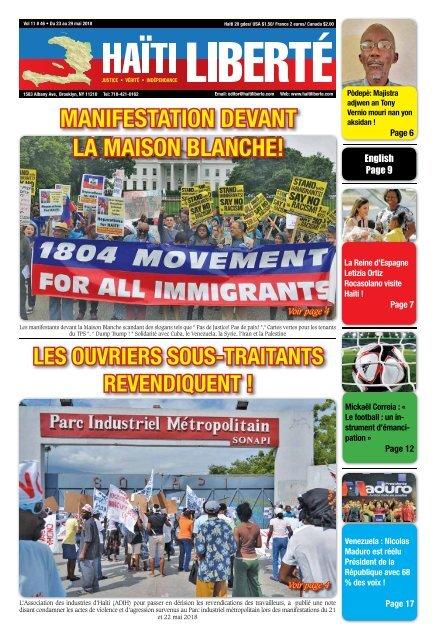 Haiti Liberte 23 Mai 2018