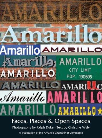 Amarillo: Faces, Places & Open Spaces
