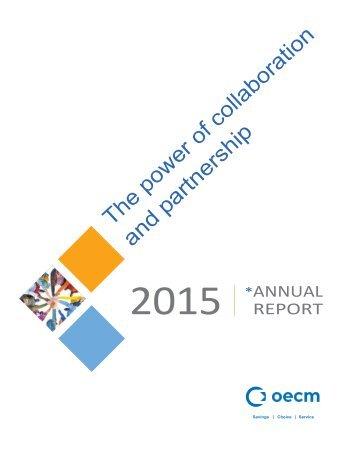 2015 OECM Annual Report