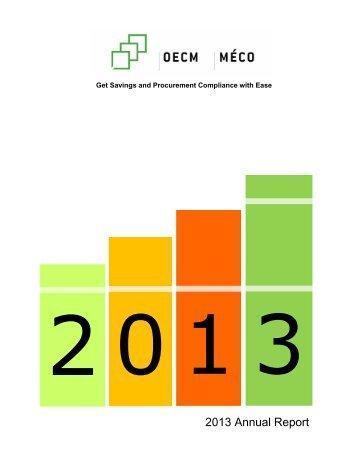 2013-OECM-Annual-Report