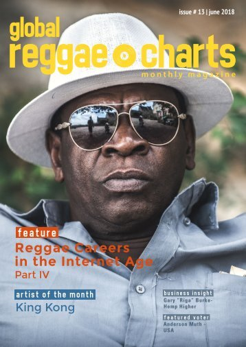 Global Reggae Charts - Issue #13 / June 2018
