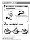 Sony NW-E103 - NW-E103 Istruzioni per l'uso Ungherese - Page 6
