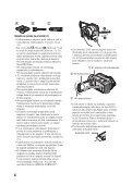 Sony DCR-SR210E - DCR-SR210E Mode d'emploi Slovénien - Page 4