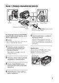 Sony DCR-SR210E - DCR-SR210E Mode d'emploi Slovénien - Page 7