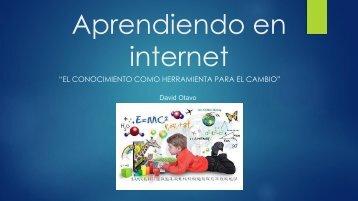 Aprendiendo en internet