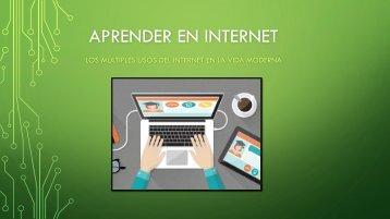 Aprender en Internet