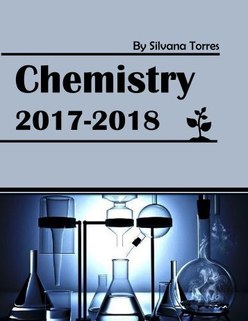 Chemistry 2017-2018 Notebook