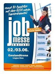 Der Messe-Guide zur 11. jobmesse emsland