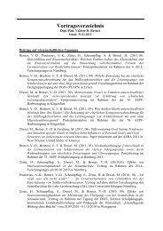 Vortragsverzeichnis - Phil.-So. - Universität Augsburg