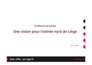 Une vision pour l'entrée Nord de Liège