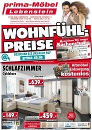 Wohlfühl-Preise bei Prima Möbel in 07356 Bad Lobenstein