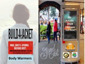 Catalog Body Warmers 07 May 2018