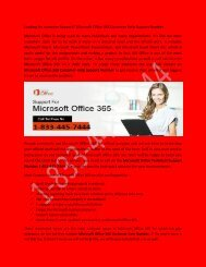 Microsoft office 365 Technical Support Number 1-833-445-7444