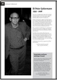 DI Peter Gattermann 1954 – 2008 Gemeinden verlieren ... - Kommunal