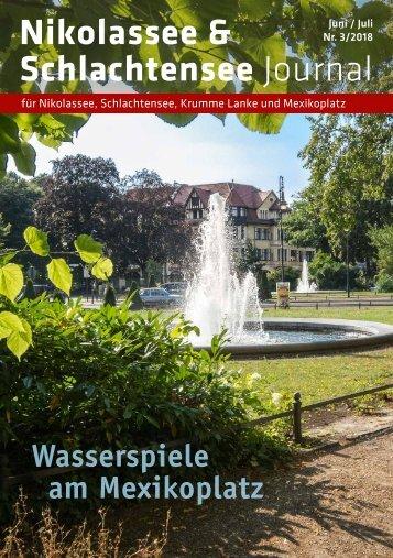 Nikolassee & Schlachtensee Journal Jun/Jul 2018