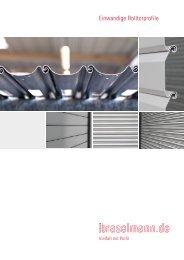 Einwandige Rolltorprofile - Ferdinand Braselmann GmbH & Co. KG