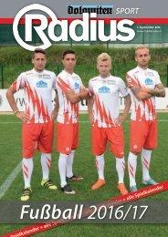 Radius Fussball 2016
