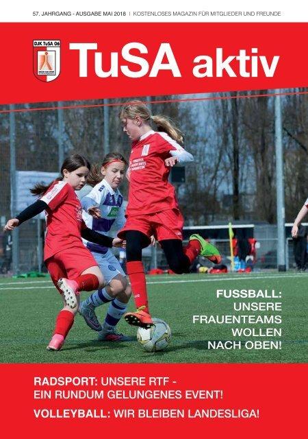 TuSA aktiv, Ausgabe Mai 2018