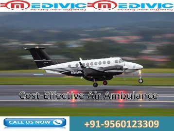 Medical Emergency Air Ambulance Services in Agra
