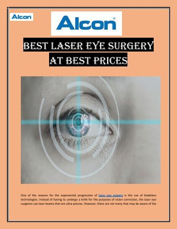 Get More Information about Laser Eye Surgery with Contoura Vision India