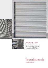 Rolltorprofil 1.1440 - Ferdinand Braselmann GmbH & Co. KG