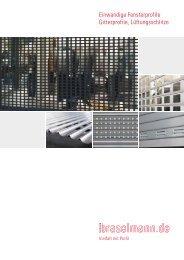 einwandige Fenster - Ferdinand Braselmann GmbH & Co. KG