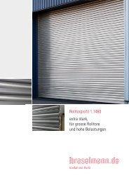 Rolltorprofil 1.1460 - Ferdinand Braselmann GmbH & Co. KG