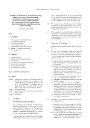 Richtlinie des Ministeriums für Stadtentwicklung ... - Brandenburg.de