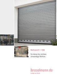 Rolltorprofil 1.1550 - Ferdinand Braselmann GmbH & Co. KG