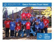 2011 Annual Report - Boys and Girls Club of Dane County