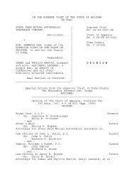 Before the presiding disciplinary judge - Arizona Judicial