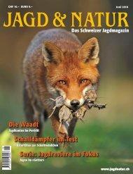 Jagd & Natur Ausgabe Juni 2018 | Vorschau
