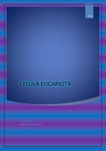 Qué son las celulas eucariotas