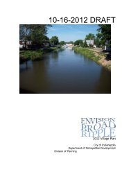 Envision Broad Ripple Public Meetings - City of Indianapolis