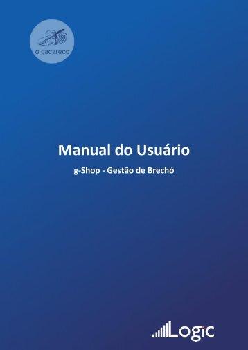 Manual do GShop