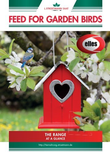 Stroetmann Wildvogelfutter Katalog 2017