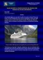 SILVER WHISPER EL PRIMER CRUCERO DEL MUNDO CON PARADA EN LOS SEIS CONTINENTES - Nauta360 - Page 2