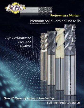 CGS Tool Catalog 2018