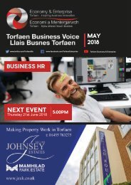 TBV Newsletter May 2018