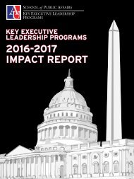 Key Executive Leadership Programs 2016-2017 Impact Report