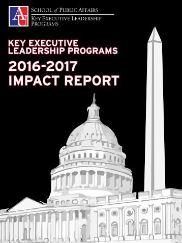 Key Executive Leadership Programs 2016-2017 Impact Report