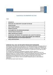 Sonderklienten-Info SPARPAKET 2012-2016 Inhalt: ・ IMMOBILEN ...