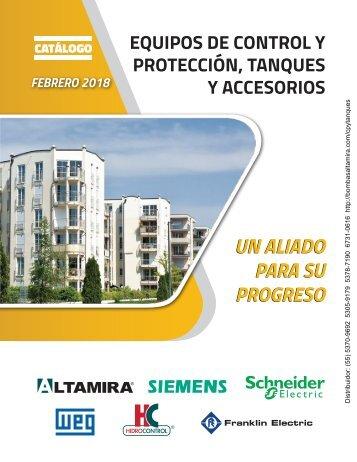 03 EQUIPOS DE CONTROL Y PROTECCIÓN, TANQUES Y ACCESORIOS