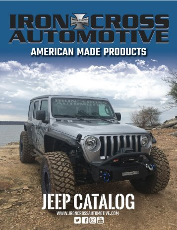 Iron Cross Jeep Catalog 2018