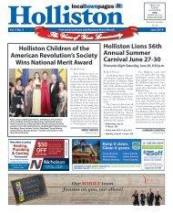 Holliston June 2018
