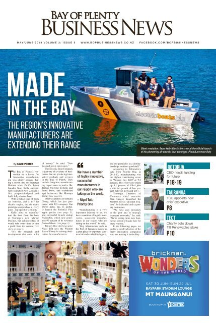 Bay of Plenty Business News May/June 2018