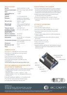 ECOTECH Serinus 10 O3 Gas Analyser spec sheet (Français) - Page 2