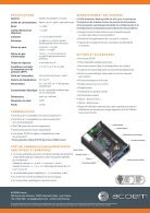 ECOTECH Serinus 40 NOx Gas Analyser spec sheet (Français) - Page 2