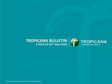 Tropicana Bulletin Issue 20