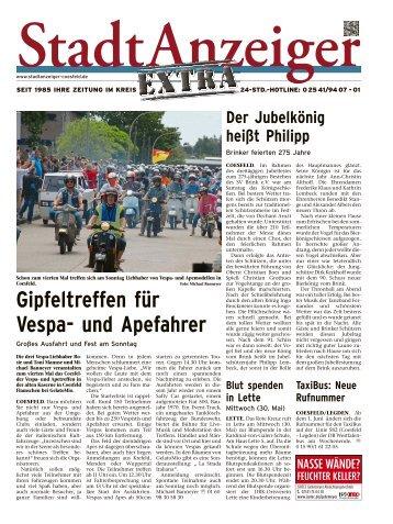 Stadtanzeiger Extra kw 21